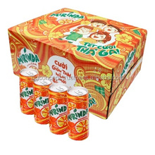 Mirinda Soft Drink Orange Flavour 330ml can, Mirinda Orange Drink
