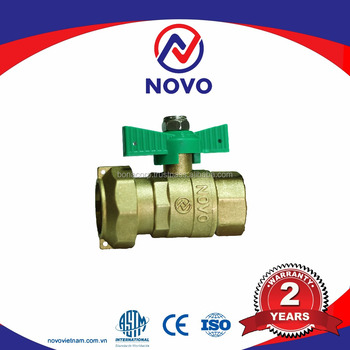 [NOVO VIETNAM] BRASS COMBINATION BALL VALVE, FEMALE FROM VIETNAM