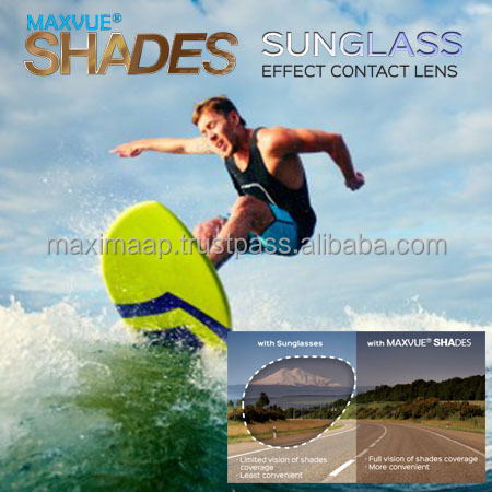 Maxvue Shade, Sunglasses contact lenses