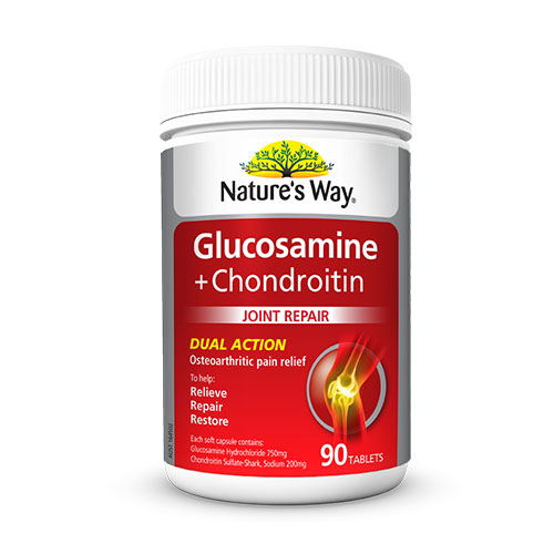 Joint Health Supplements GLUCOSAMINE + CHONDROITIN Dual Action Arthritis Relief