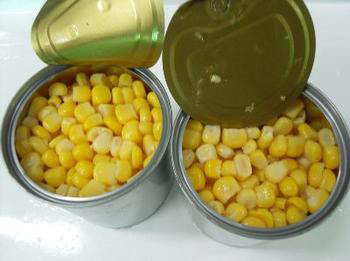 Canned Sweet Corn kernel in Syrup /Canned Vegetable