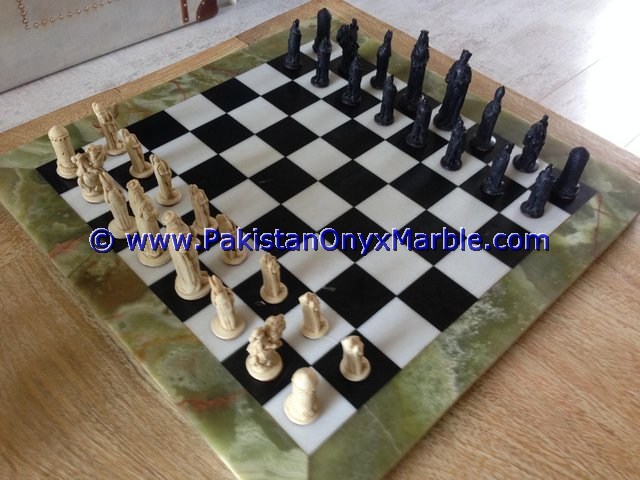MANUFACTURER AND EXPORTERS ONYX TABLES MODERN CHESS TABLE
