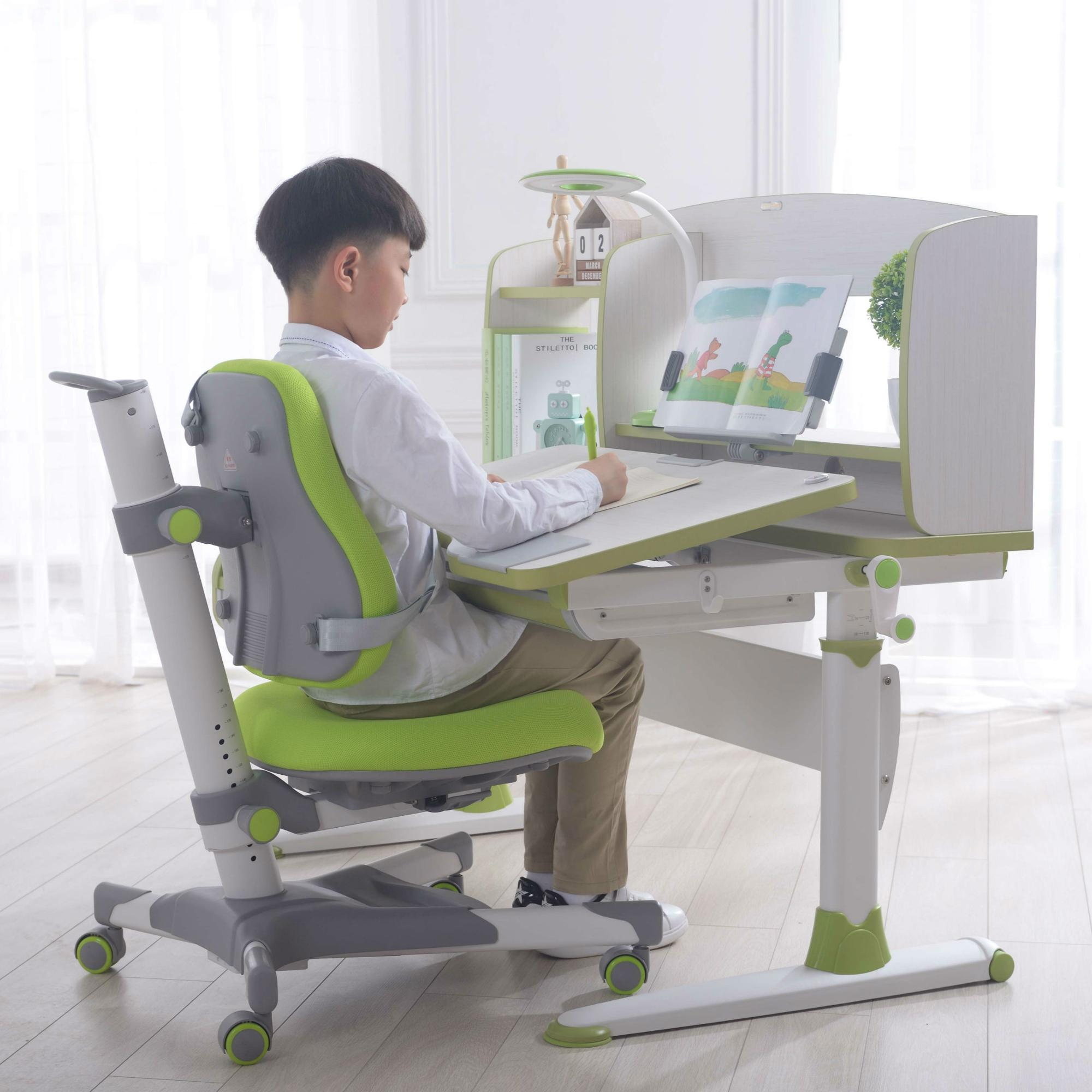 Ergonomic Height Adjustable Study Desk