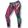 Ladies gym tight custom sublimation printed, Yoga pant ladies