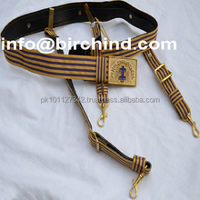 Masonic sword belt, KT belt, Knight Templar belt