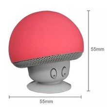 Wireless Speaker subwoofer MP3 Player Mic Portable Stereo Bluetooth Mini Mushroom Speaker For <strong>Mobile</strong> <strong>Phone</strong>