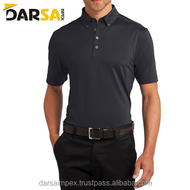 knitted fabric lab test polo shirts tight fit gym wears for man