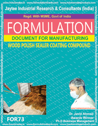 formula document for making WOOD POLISH SEALER COATING COMPOUND