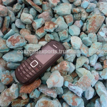 top quality natural rough blue turquoise raw crystal stone for carving jewelry making
