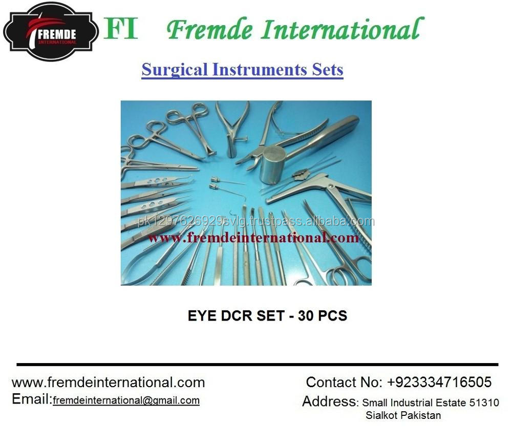 EYE CATARACT SURGERY INSTRUMENTS SET OF 15 PIECES