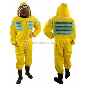 Professional Beekeeping Suit / Semi Ventilated Beekeeping Suits /coverall with fency veil