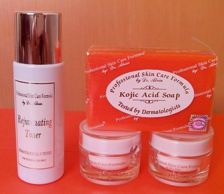 Facial Rejuvenating Set Professional Skin Care Formula