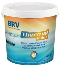 Energy-saving, Interior and Exterior Heat Insulation Paint with Micro-ceramic Beads and Low Thermal Conductivity Value