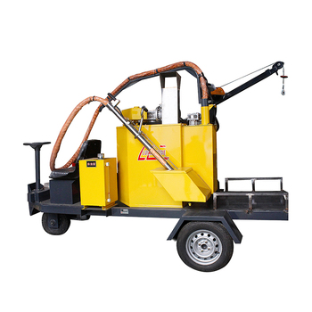 driveway seam asphalt sealing bitumen sealer road construction crack potting machine hydraulic surface crack process equipment