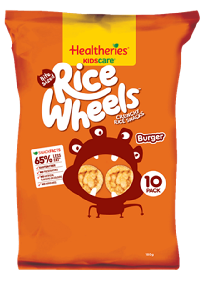 Kids' School Lunches Packaged Snacks Burger Rice Wheels