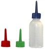 Henna Applicator bottle with 0.3mm 0.5mm 0.7mm plastic tips