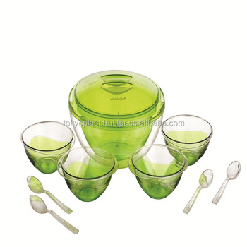 Palila Pinnacle Serving Bowls 9 Pcs Sets