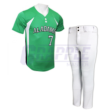 100% Polyester Baseball Uniform Voor Mannen