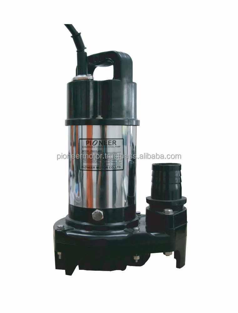 PMSS-405 Stainless Steel Submersible Pump Dewatering Pump