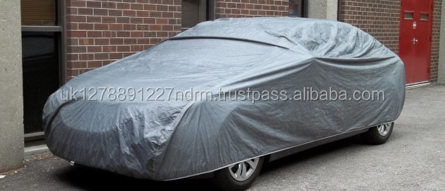 XL Extra Large Waterproof 2 Layer Full Car Cover Indoor Outdoor Breathable UV Protect - UK Stock Fast Shipping