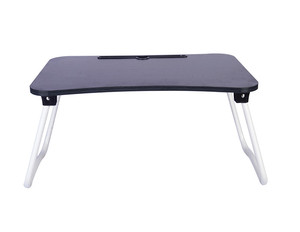 Portable Wooden Table folding computer desk laptop bed tables