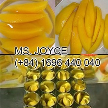Viet Nam Canned Mango in light syrup with Good Quality for EXPORT