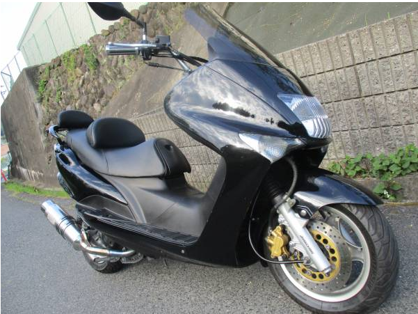 Popular Japanese Brand Used MotorBike Majesty125