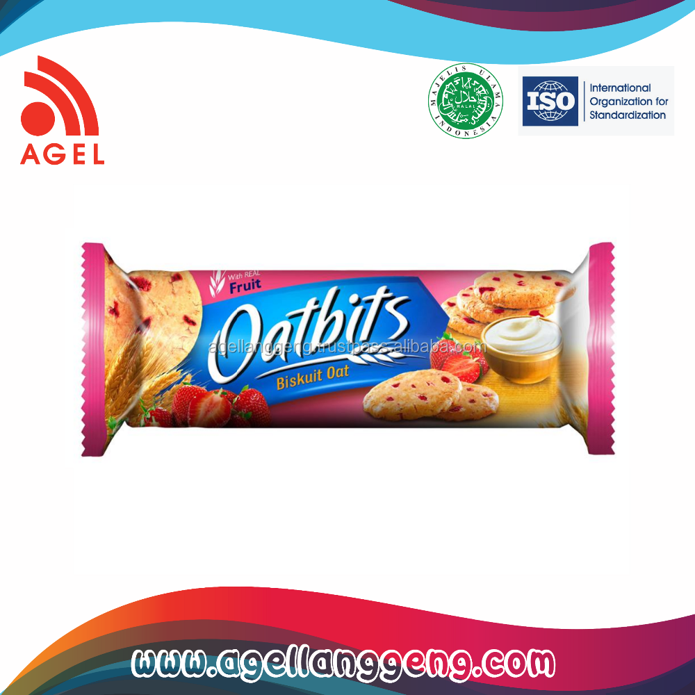 Nutritious and Healthy oat Cookies with Strawberry Yogurt Flavour For Modern Healthy lifestyle