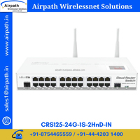 CRS125-24G-1S-2HnD-IN Managed Smart Switch Wireless Wi-Fi