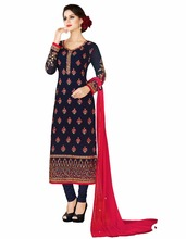 Salwar kameez Designs / Latest Casual Wear Salwar Suits / Women Pakistani Semi-Stitched Shalwar kameez (salwar kameez Suits)