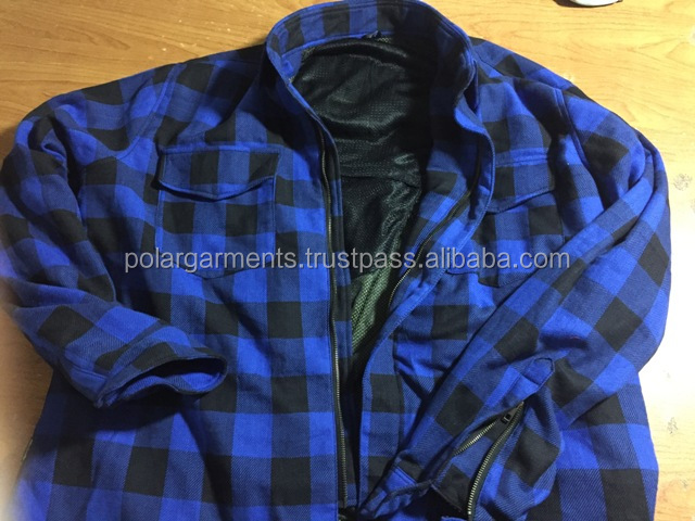 FLANNEL MOTORCYCLE SHIRT
