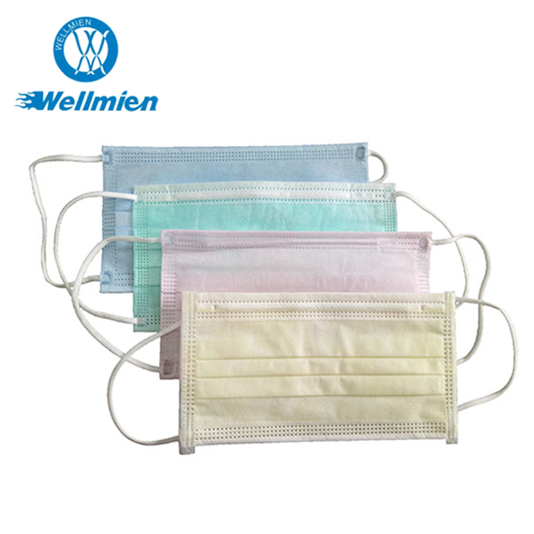 Disposable Nonwoven Surgical Face Mask Safety Healthcare Supply