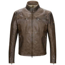 Men leather jacket made in sialkot pakistan