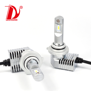 ZY Ultra Mini Size 5000lm 40W P20 h7 led canbus h4 hid car headlights 9005 9006