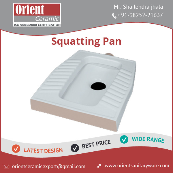 Best Quality Highly Demanded Squatting Pan for Homes, Restaurants, Hotels