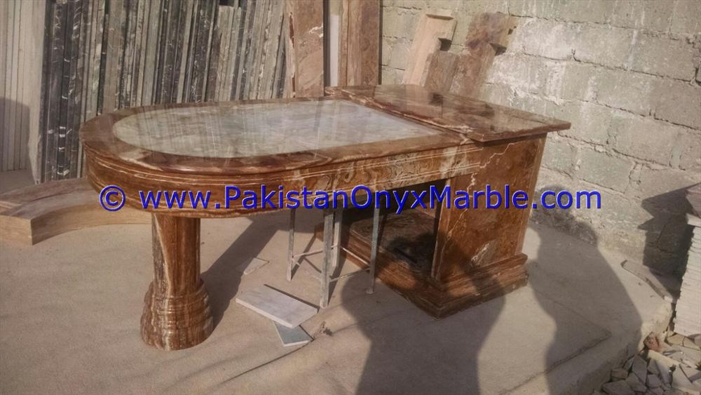 FINE BEST QUALITY ONYX TABLES OFFICE MODERN STYLE TABLES ROUND SQUARE RECTANGLE HOME DECOR FURNITURE