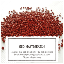 Red masterbatch for blowing film - Red color masterbatch