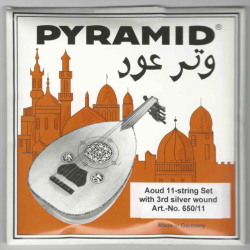 3 X Professional Oud Strings Arabic Syrian Tuning Pyramid PSO-650