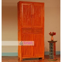 indian wooden colorful almirah