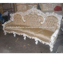 Luxury European Designs 4 Seater Royal Barcelona Sofa Living room furniture