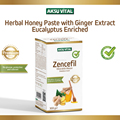 High Nutrition Food for Men Ginger Rhizome Zingiber Officinale Carob Extract Mix