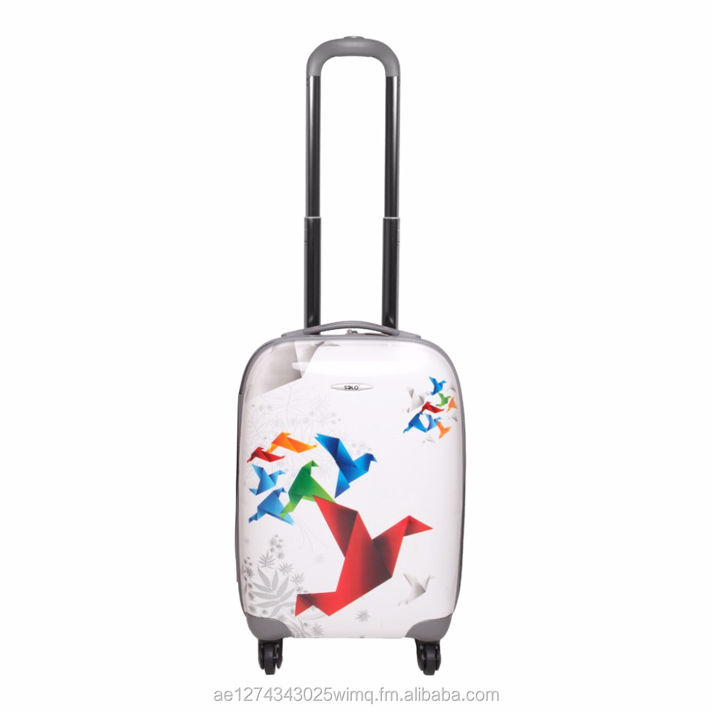 SOLO Spinner Trolley Case Luggage 3 PC Set