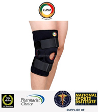 LPM(Pharmacist,National Sports) Adjustable Hinged Knee Open Patella Neoprene Dual Stay Strap Compression Brace Support Protect