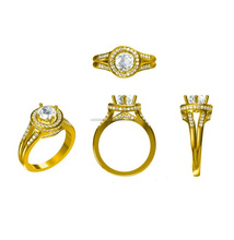 3D CAD Models CZ Diamond Jewellery