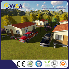 (WAS1013-36D)Modern Low Cost Color Prefabricated House/ Living Home/ Residential Building