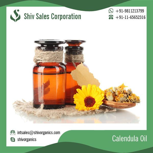 Lowest Price Refined Calendula Oil with Natural Ingredients