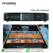 1300W Switching FP10000Q 4 Channel Power Amplifier