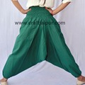 cotton trousers women's yoga daily wear harem pants