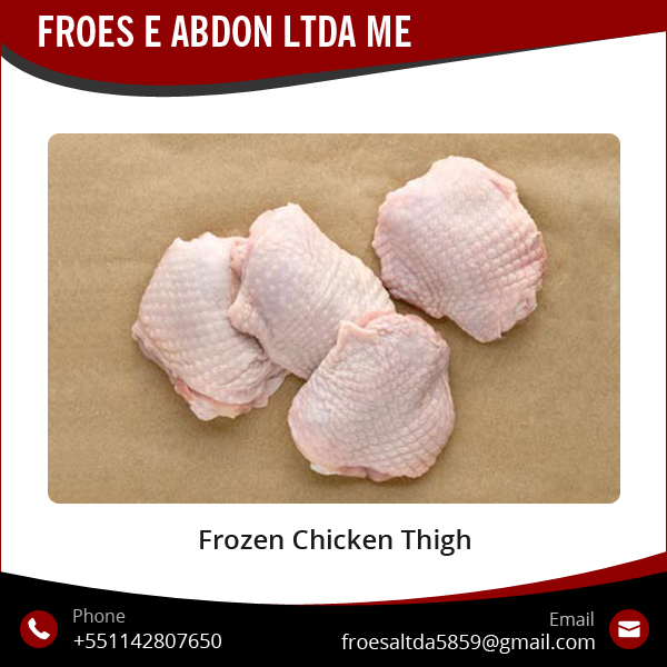 Halal Frozen Grade A Frozen Chicken Thigh