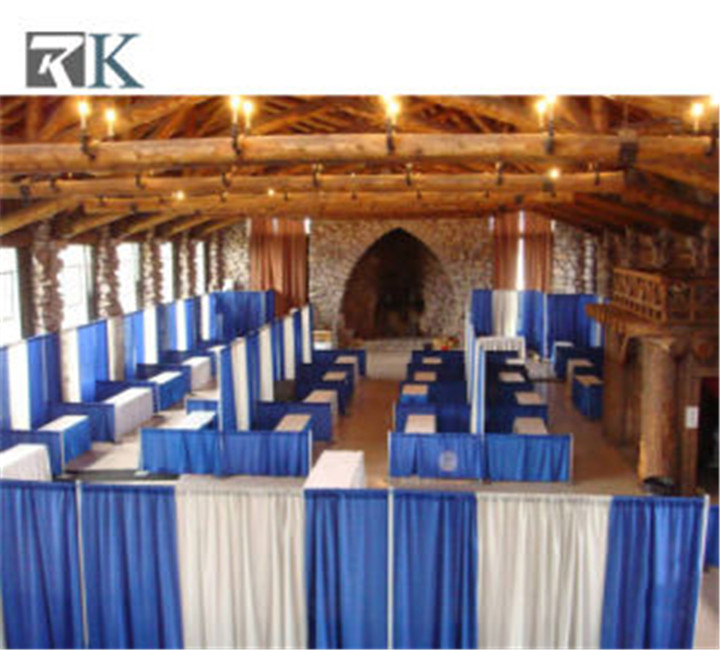 RK Wedding Equipment Adjustable Backdrop Photo Exhibition Event Custom Trade Show Booth